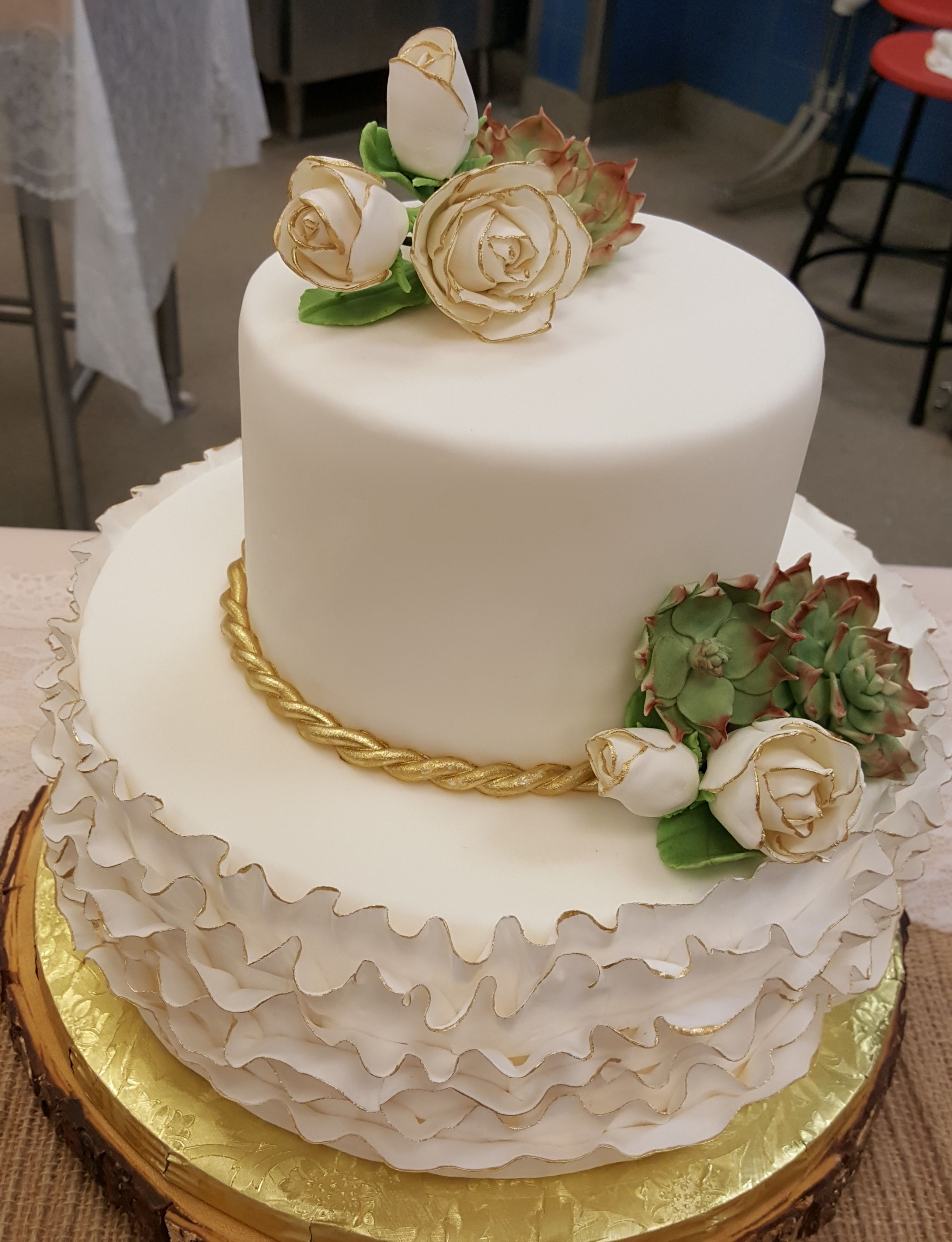 Chef claire chapmanus wedding cakes class spring cakesand