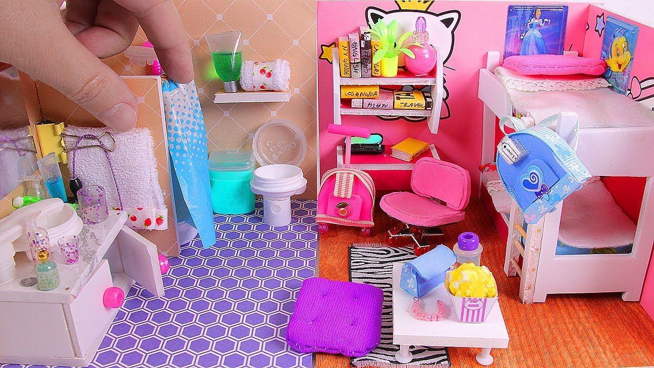 5 Diy Miniature Dollhouse Rooms Ideas De Casa De Munecas