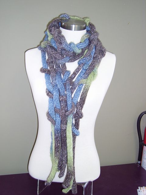 I-Cord Scarf could do with french knitting (spool knitting) | French ...