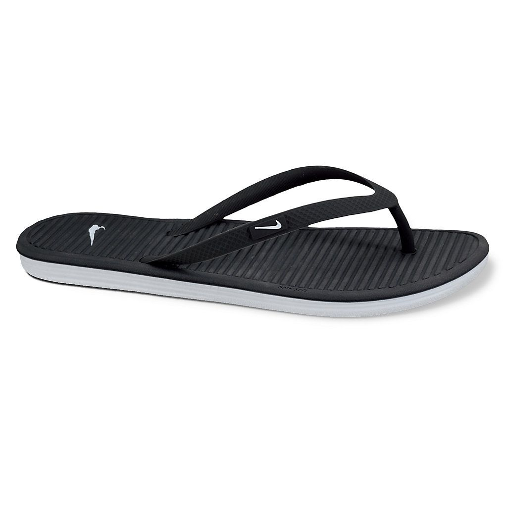 Nike Shoes  Nike Solarsoft Thong 2 Womens Sandals BlackCool Grey
