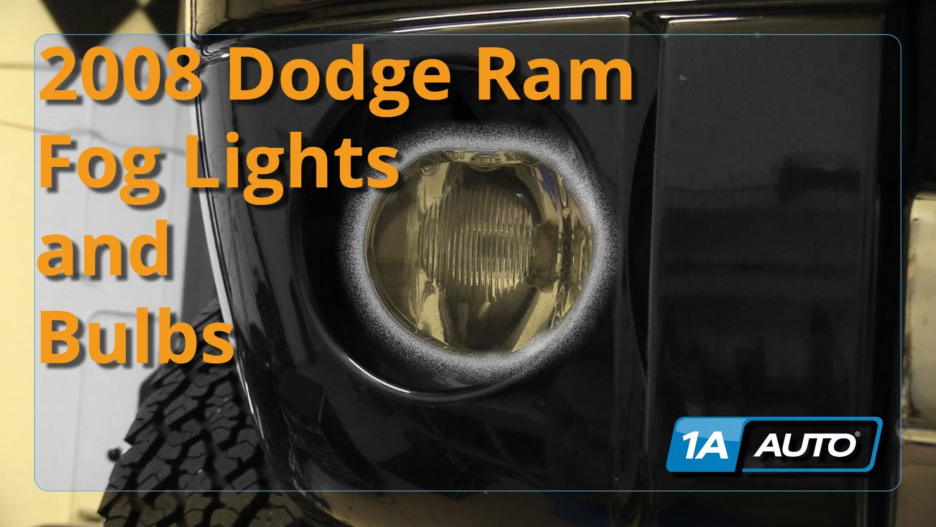 Awesome How To Install Replace Fog Lights 2002 08 Dodge Ram 1500 Buy Quality Auto Parts At 1aauto Com Dodge Ram Dodge Ram 1500 Ram 1500