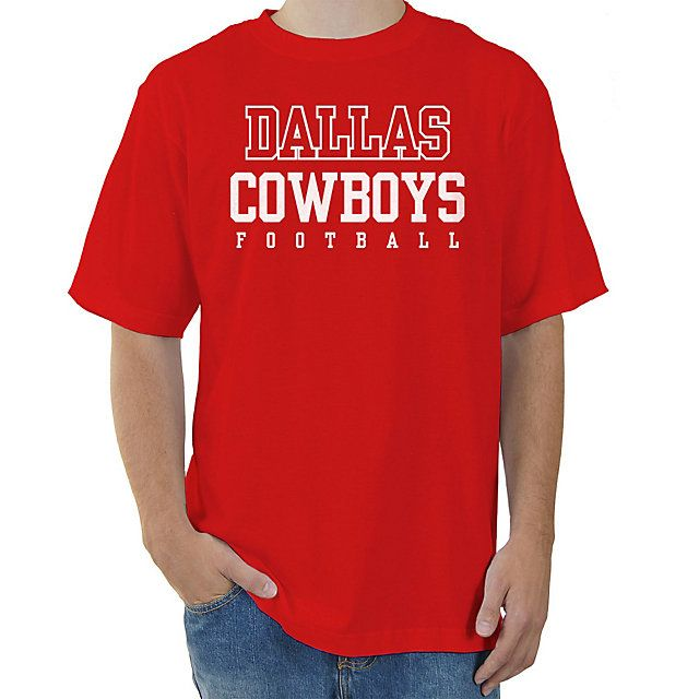 Dallas Cowboys Red Practice T-Shirt 2 x Size L  f703c0d65