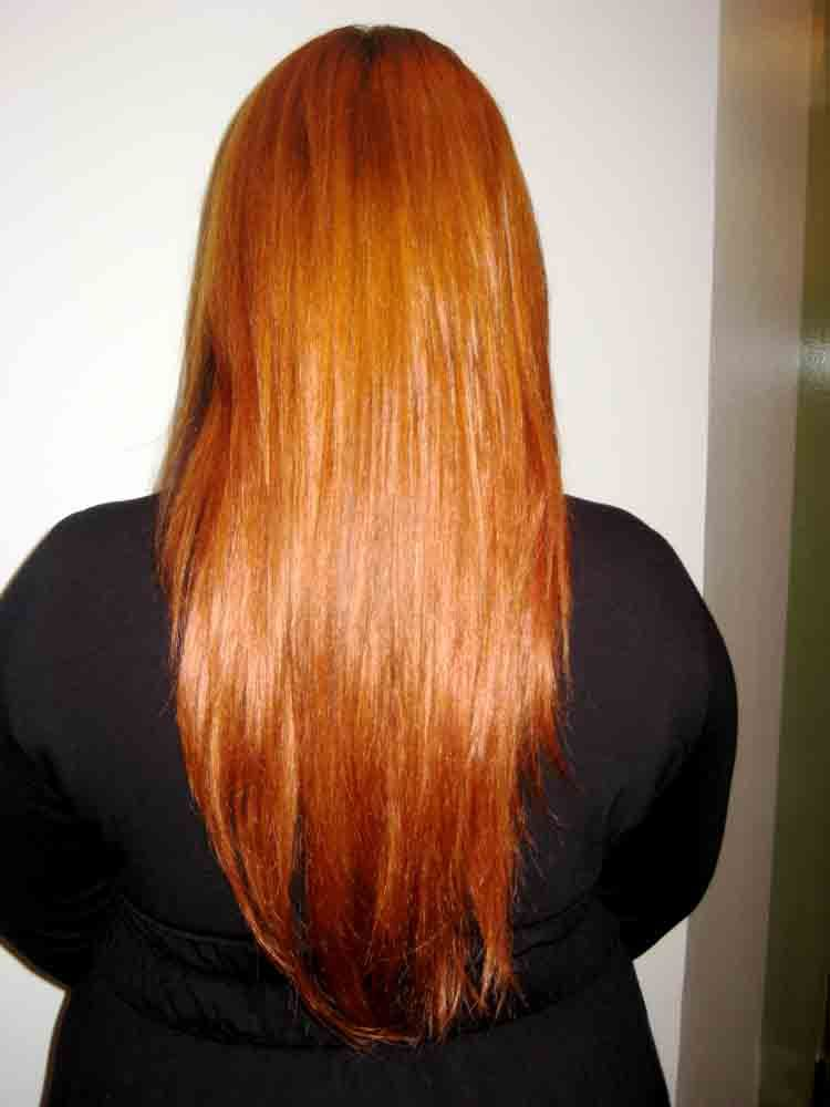 Natural Red Hair Red Hair Clip In Extension Hair Color