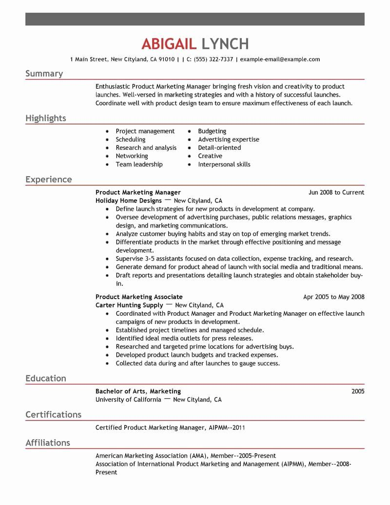 23 Mba Application Resume Examples in 2020 Resume examples