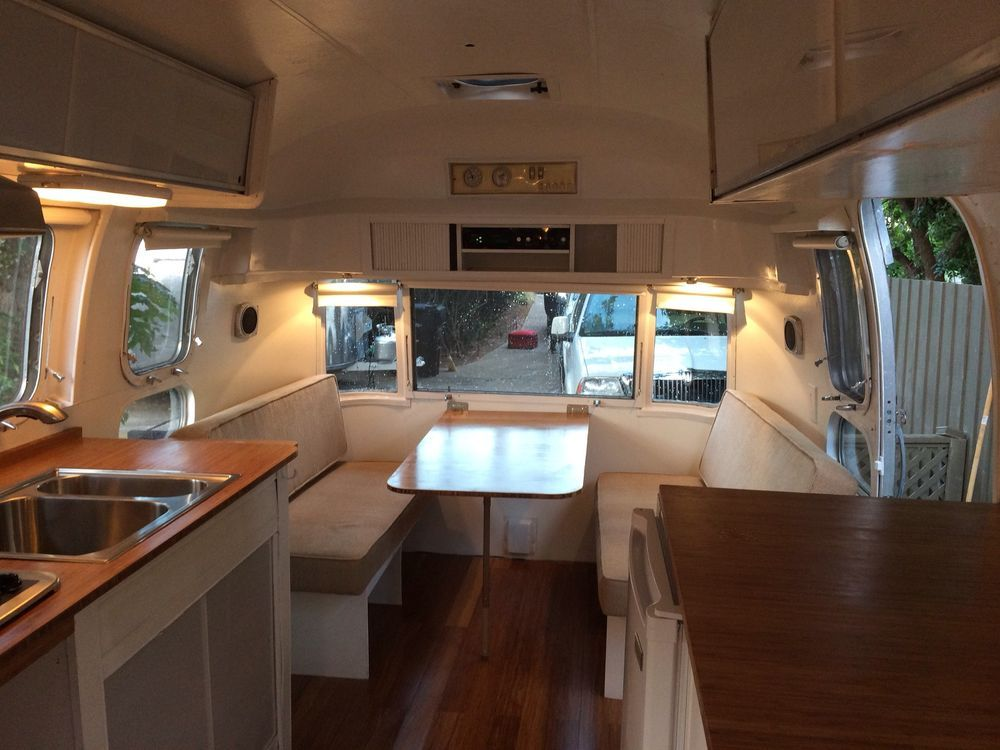 Airstream Trailer Vintage 1972 Land Yacht Trade Wind | Camping Wow