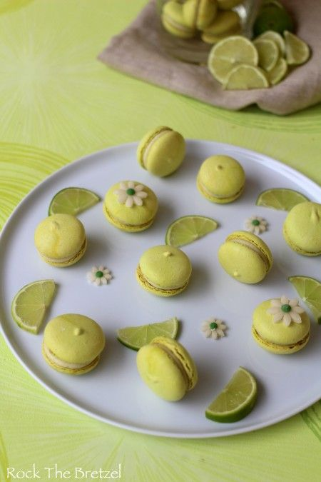 Limettenmakronen – Rock the Bretzel  – GATEAUX, CUPCAKES ET BISCUITS