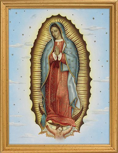 Our Lady Of Guadalupe Framed Print Banana Bread Pinterest