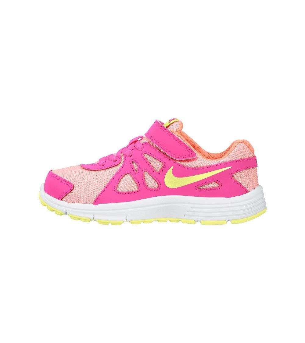 Nike Revolution 2 PSV Kids White/Lime/Pink, www.oishi-m