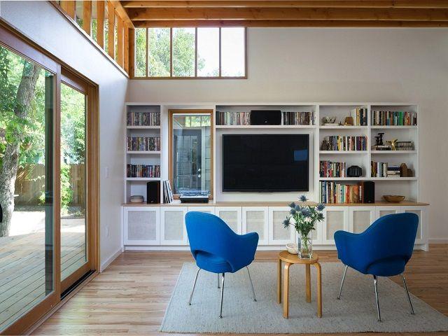 Desain Interior Gaya Mid Century Modern