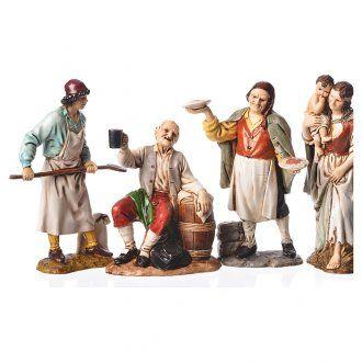 64a754be7c8 Personajes 4 figuras belén Moranduzzo 12 cm
