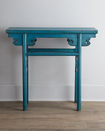 Blue Antique Wooden Table Wooden Tables Asian Furniture Chinese Furniture
