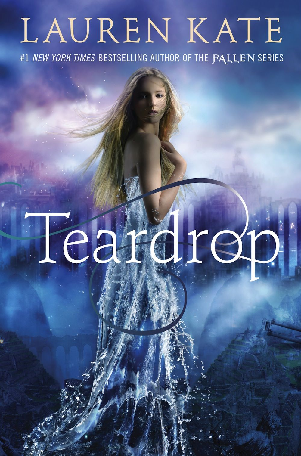 Teardrop, by Lauren Kate.  Author of the Fallen Series.  Just finished this earlier today and LOVED it!