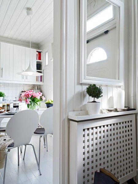 Decorar con muebles de ikea ikea radiadores y recibidor - Muebles para cubrir radiadores ...