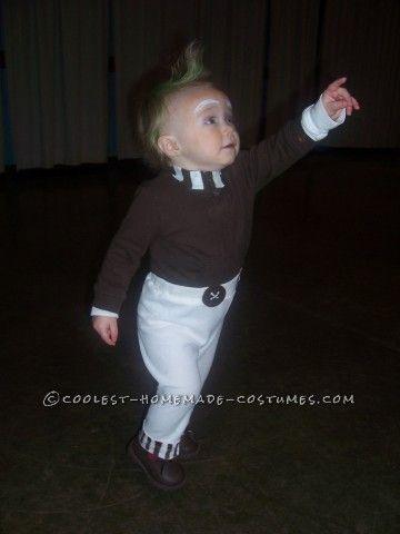 1 Year Old Easy Oompa Loompa Costume - 1 year old halloween costume ideas