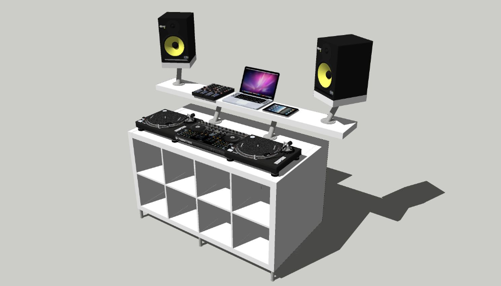 Create a DJ Booth from IKEA Parts. - DJ TechTools