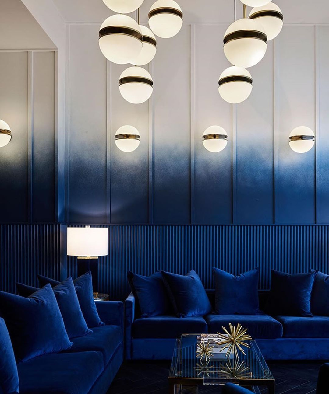 Shades Of Blue With Images Interior Interior Design Hotels
