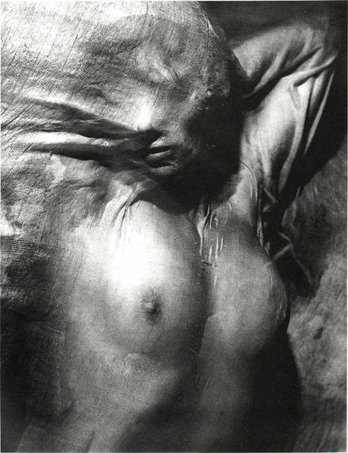 Wet Veil, Paris, 1937 by Erwin Blumenfeld