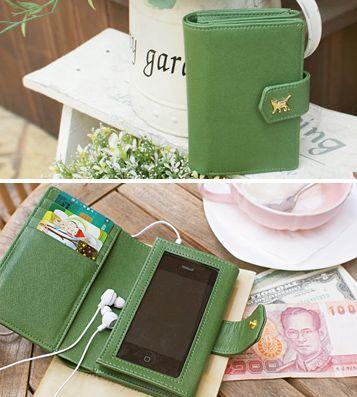 Кошелёк Choo Choo Smart Harmony (разные цвета) / Зелёный