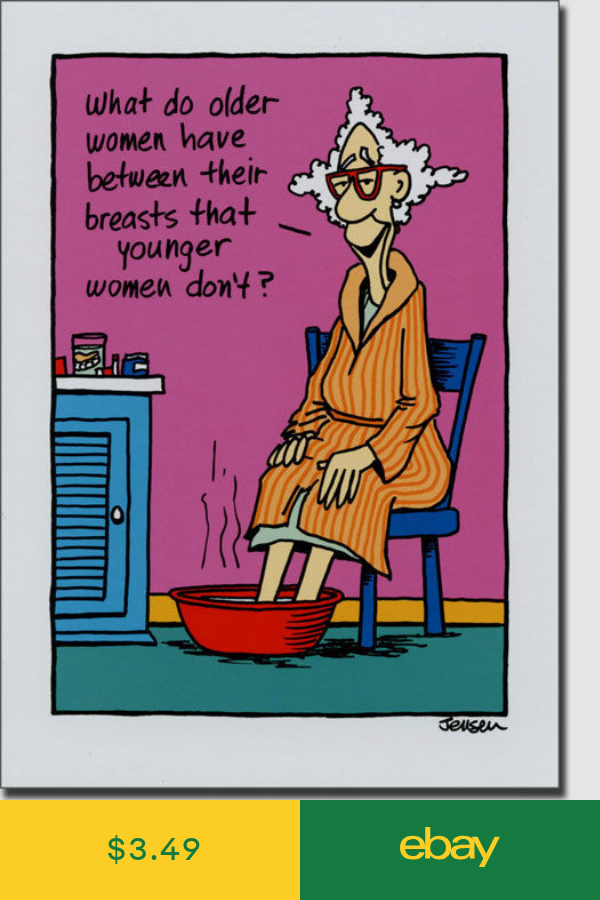 What Do Older Women Have Funny Birthday Card Greeting Card By Oatmeal Studios Funny Birthday Cards Birthday Humor Political Birthday Cards