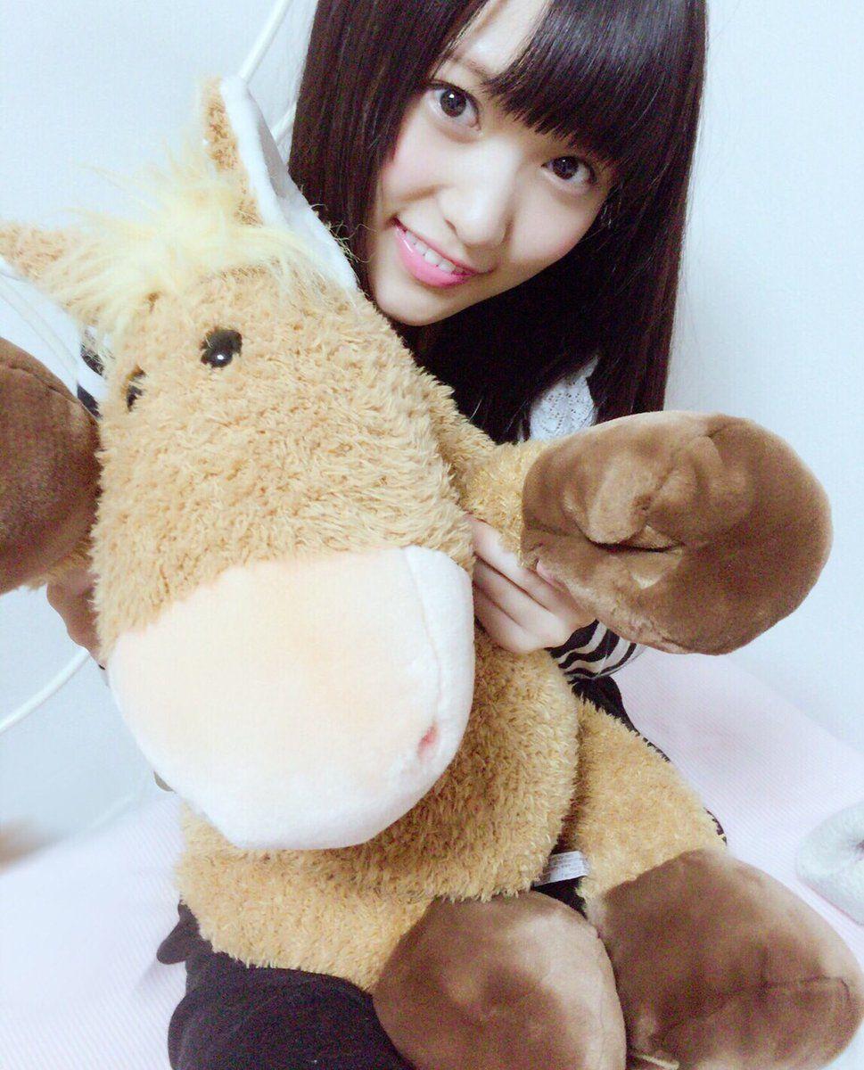 菅井友香 私には馬しかない! 最近馬に会えていないので
