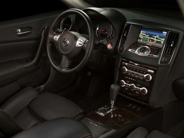 2012 Nissan Maxima interior Everything Nissan 2009