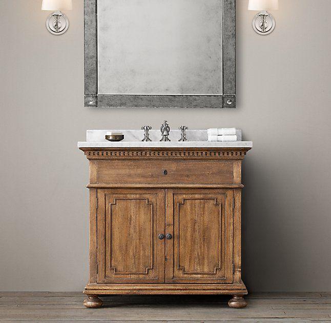 St James Single Vanity Restoration Hardware Bathroom Vanity Restoration Hardware Bathroom Restoration Hardware Vanity