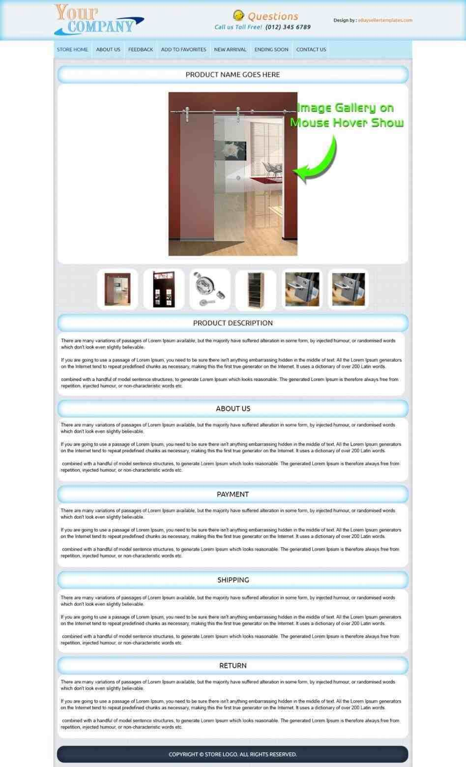 help you sell selling Ebay Product Description Template on ebay ...