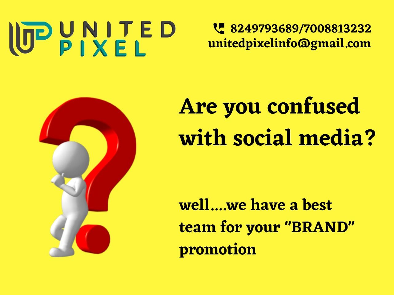 Worried for business🤔? Are you confused with social media promotion🤔?  Why so much worried for business promotion🤷🏻♀️!! Well, we have a best team for you business promotion😊!  Contact Today: 📞8249793689 | 📞7008813232  #business #digitalart #digitalmarketing #postmedia #seo #smo #socialmedia #socialmediaagency #digitalmarketingcompany #digitalindia #marketingtips #bhubaneswarbuzz #digitalmarketingtips #advertising #branding #developing #bhubaneswar #india