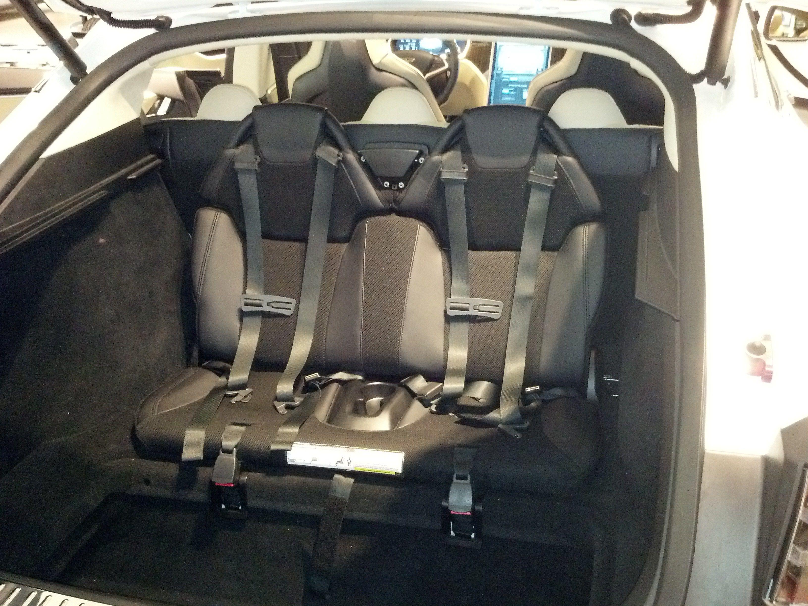 Tesla Model S 3rd Row Seating | Baby car seats, Hot cars, Cars