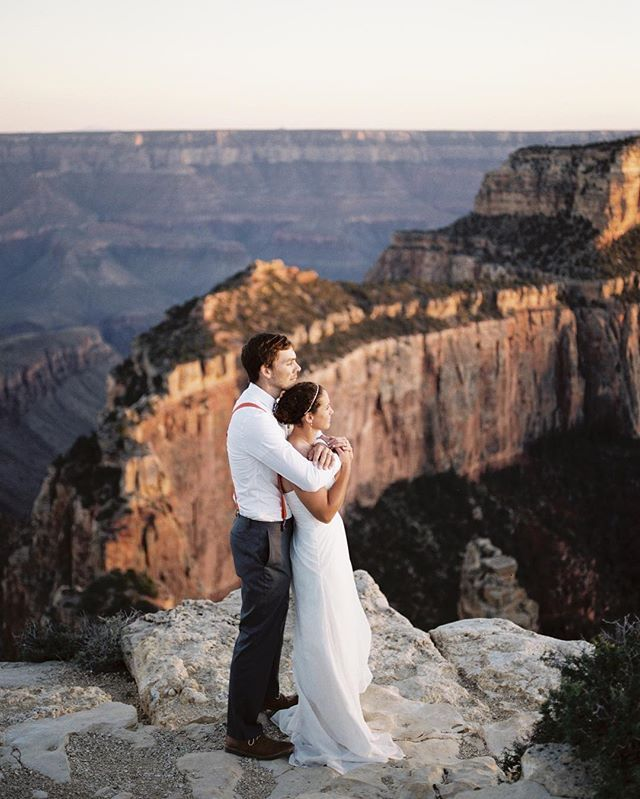 Finished This Grand Canyon Wedding Just In Time To Celebrate 100 Years Of