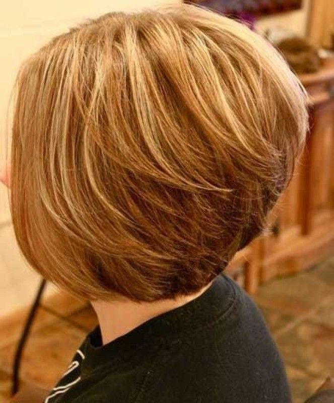 Short Layered Haircuts Front And Back View: Short Layered Bobs, Layered