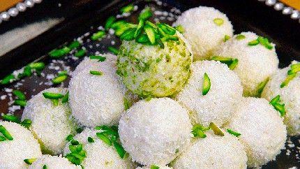 كرات الثلج المحشوة بالفستق Recipe Middle East Recipes Lebanese Desserts Recipes