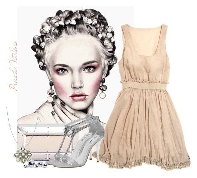 """""""Blush"""" by priscilavitalino on Polyvore featuring moda, Vicini, Lucca Couture, Via Uno, blomus, Monsoon e Elsa Peretti"""