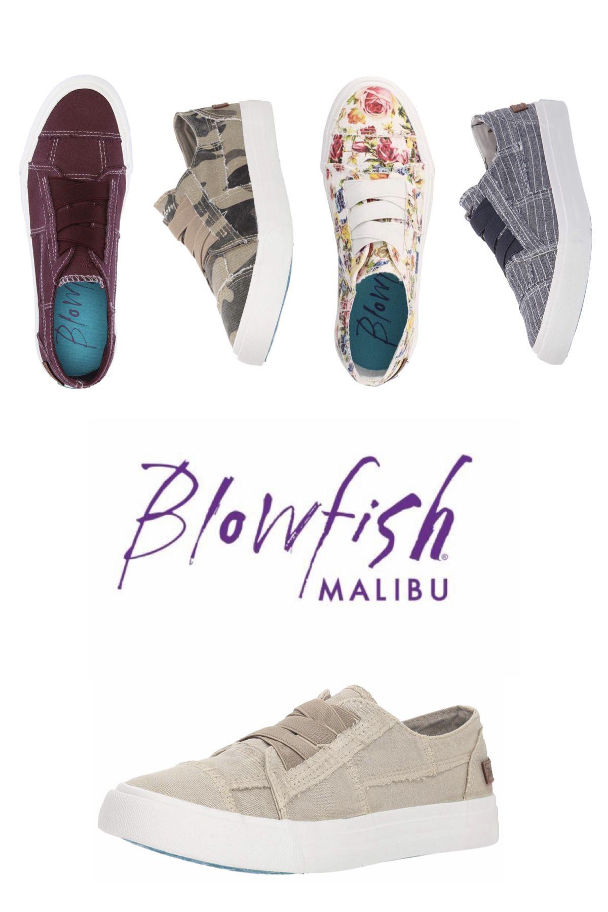 Blowfish canvas slip-on sneakers