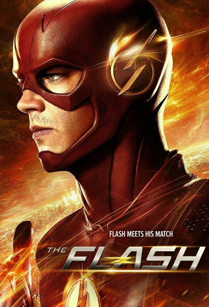 Art Poster The Flash TV Series Superhero Season 3 Hot Silk 30 40 24x36inch T-303