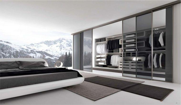 Chambre avec dressing : 20 intérieurs élégants et modernes | Dressings