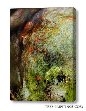 """bosque"" tree canvas"
