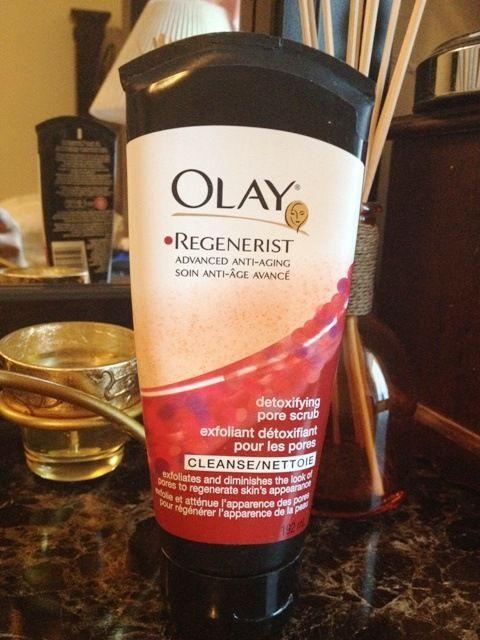 Olay Regenerist Detoxifying Pore Scrub Review Olay Regenerist