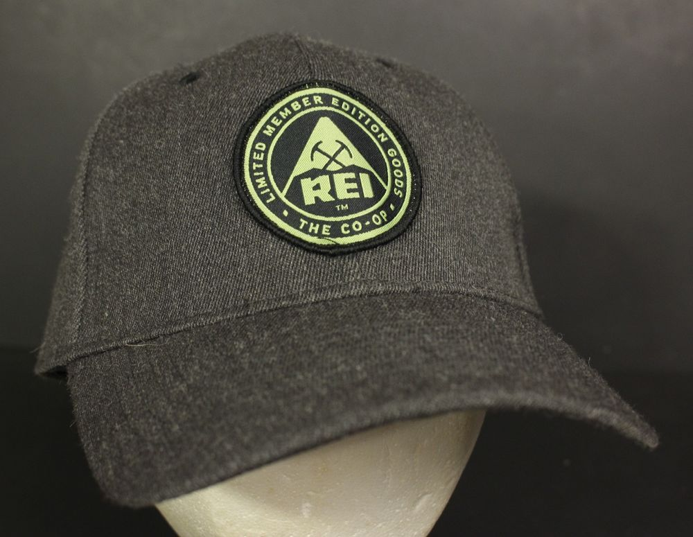 Rei Coop Hat Cap Strapback Member Limited Gray Patch Adjustable Hipster  Rei   BaseballCap 815278ca2ab7