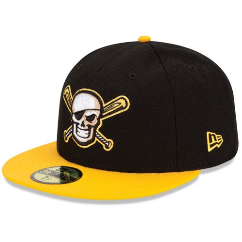 33d12b694c583 Bradenton Marauders Authentic Alternate 2 Fitted Cap Pittsburgh MiLB 59fifty  Hats