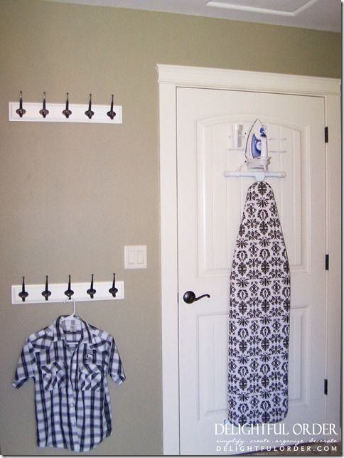 Photo of Laundry Room: This laundry room is *insane*, but I do love the idea of hanging t…