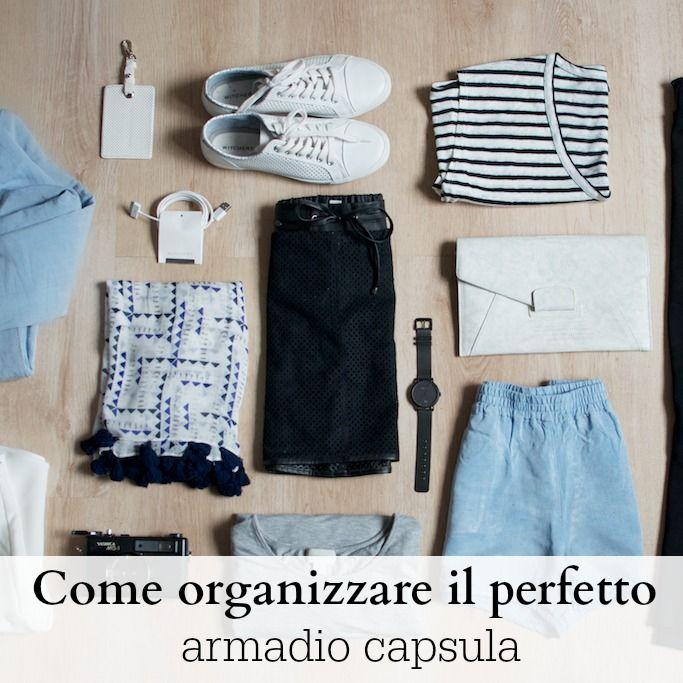 Come Organizzare Armadio Guardaroba.Come Organizzare Il Perfetto Armadio Capsula Stile Di Moda