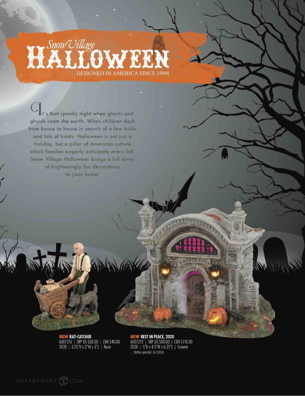 Village Halloween 2020 Photos Rat Pin by Ellie Fluck on Halloween Village in 2020 | Halloween design