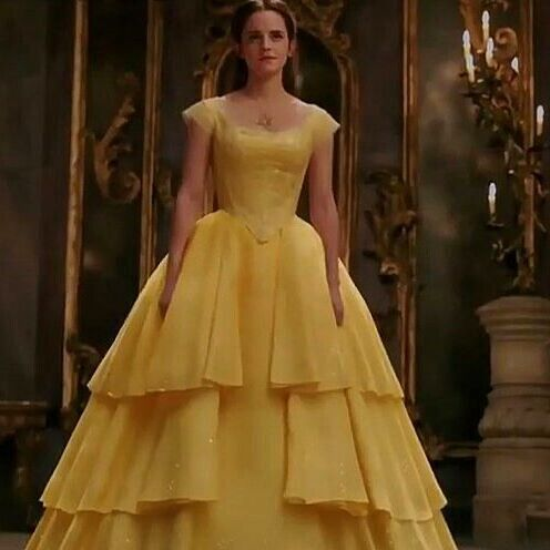 Emma Watson Beauty And The Beast Belle Dress