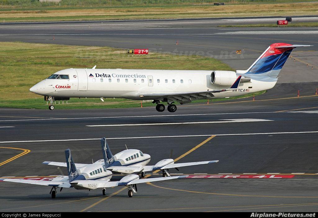 N471CA Delta Connection Canadair CRJ-200