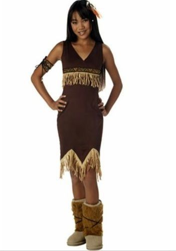 Native American Indian Princess Dress Up Halloween Costume Tween Large 10 12 #CaliforniaCostumeCollections #Dress #indian #nativemaerican #costume # ...  sc 1 st  Pinterest & Available in our eBay store..click photo for details! Native ...