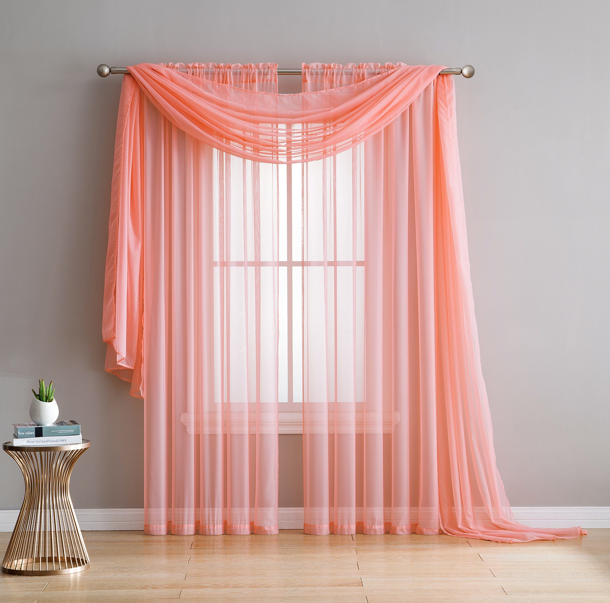 voile wide curtain pair a curtains cranston white panel grommet crushed grommetpair extra sheer