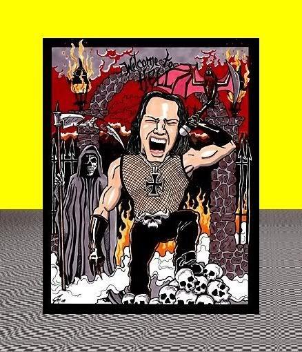 #Danzig poster art...