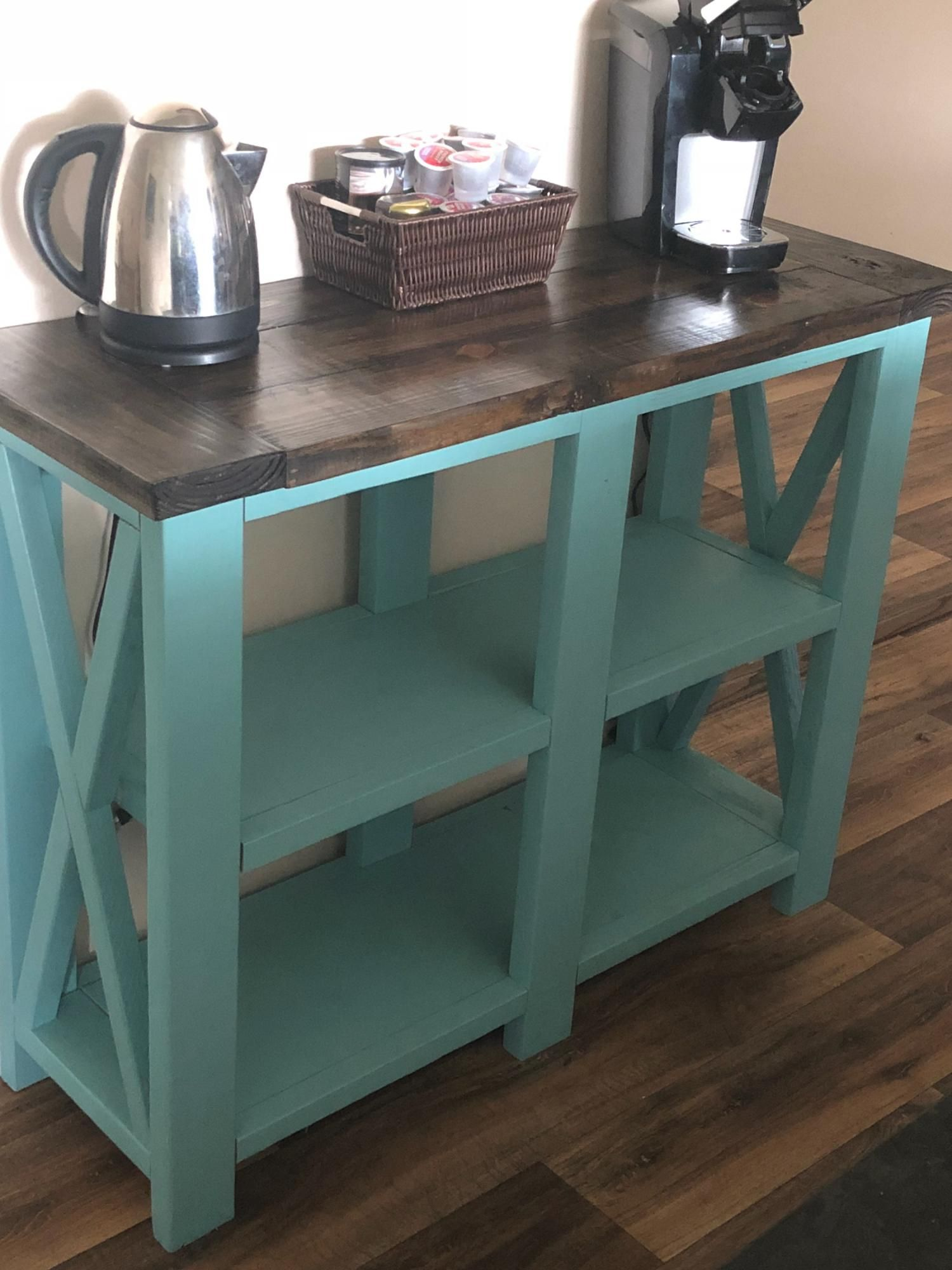 X Console Table Coffee Bar Ana White In 2020 Home Diy Diy Home Decor Projects Woodworking Projects Diy