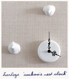Cuckoo's nest clock